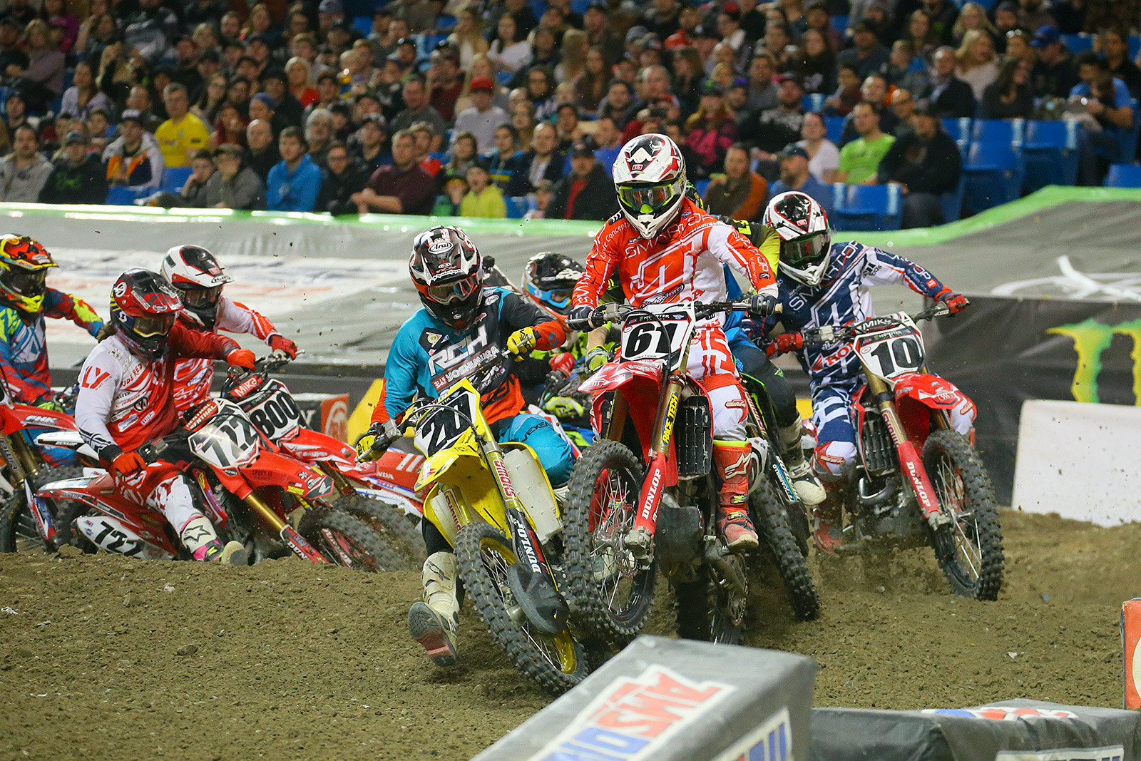 450 Semi Two Start - Photo Blast: Toronto - Motocross Pictures - Vital MX