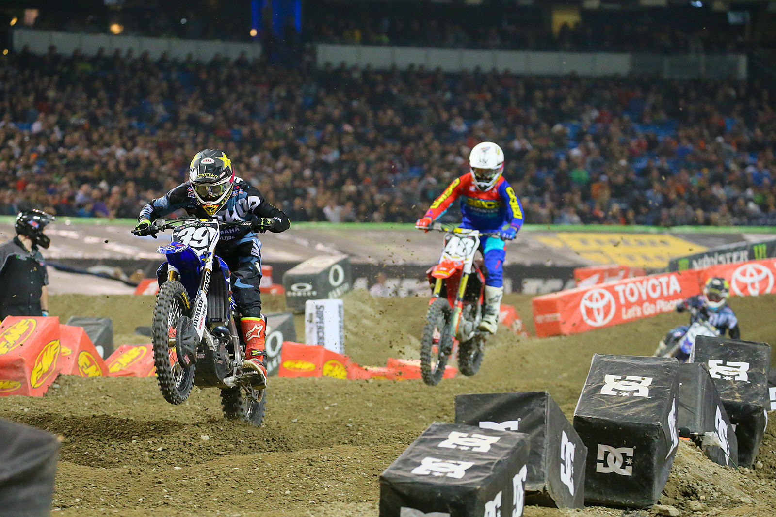 Colt Nichols and Christian Craig - Photo Blast: Toronto - Motocross Pictures - Vital MX