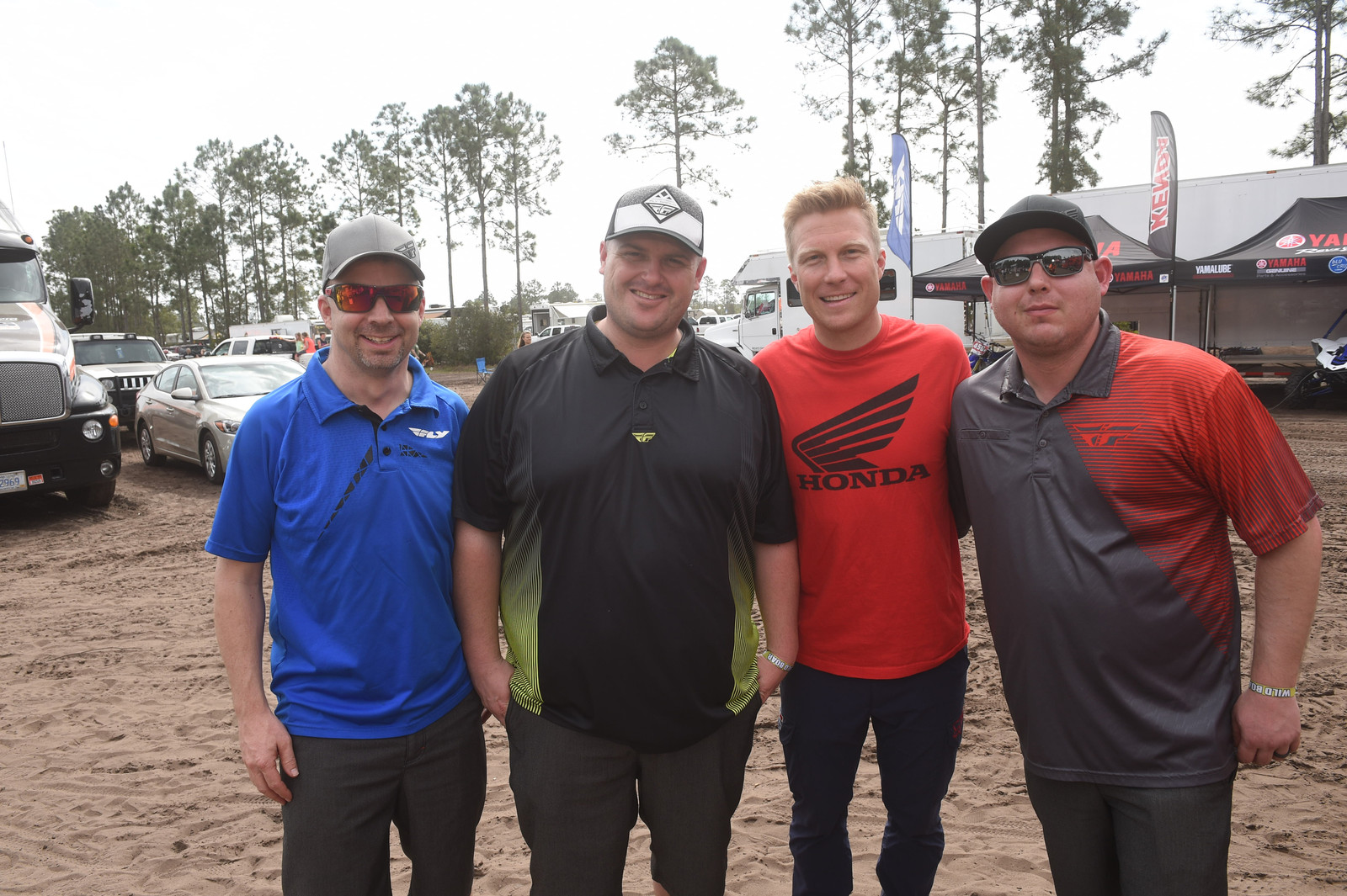 Andrew Short and the Fly Racing crew - Wild Boar GNCC - Motocross Pictures - Vital MX