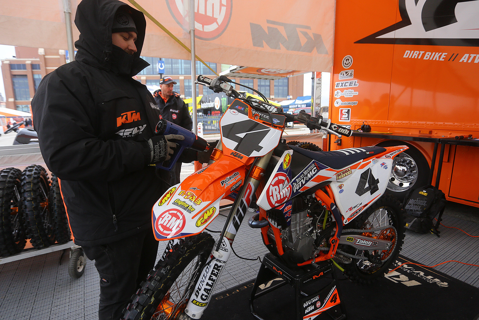 Vital MX Pit Bits: Welcome to Indy - Vital MX Pit Bits: Indianapolis - Motocross Pictures - Vital MX