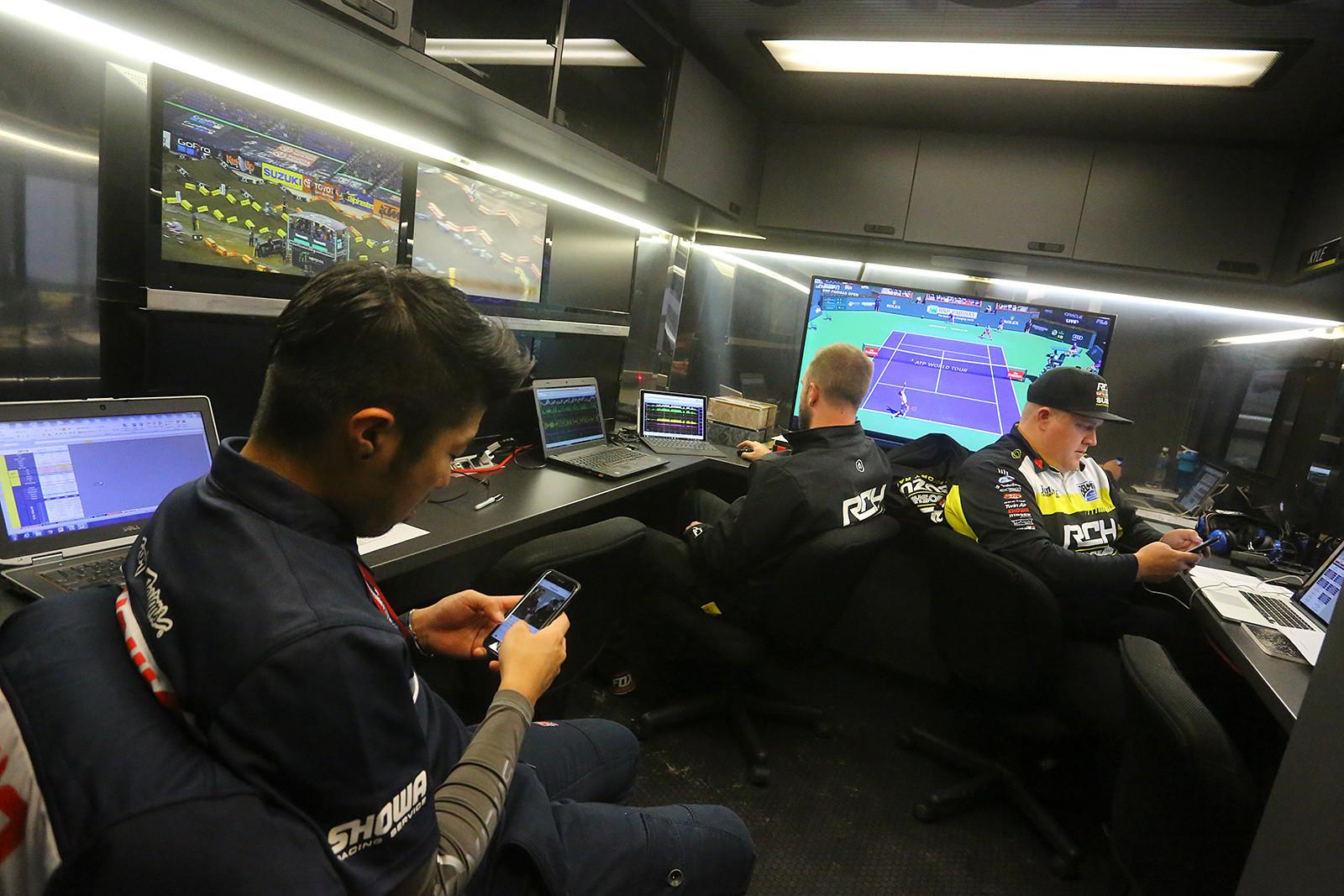 RCH/Yoshimura/Suzuki Factory Racing - Vital MX Pit Bits: Indianapolis - Motocross Pictures - Vital MX