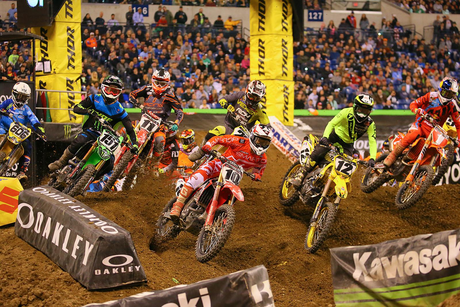 450 Semi Two Start - Photo Blast: Indianapolis - Motocross Pictures - Vital MX