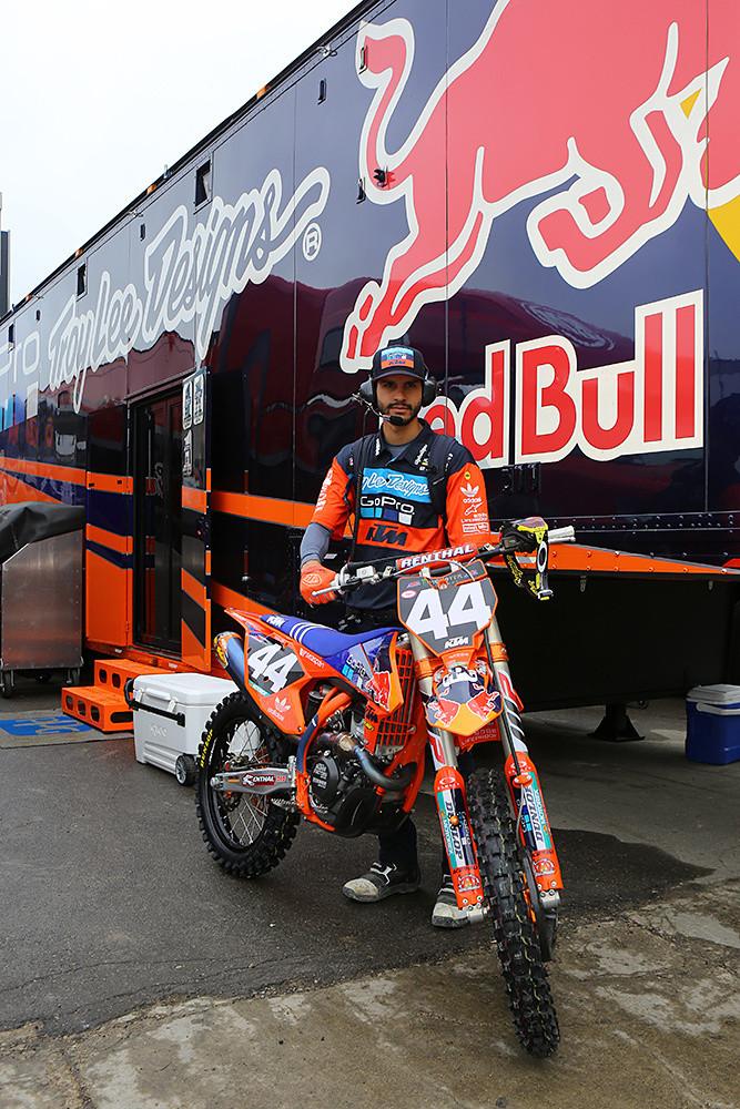 Kristian Ortiz - Pit Bits: Detroit - Motocross Pictures - Vital MX