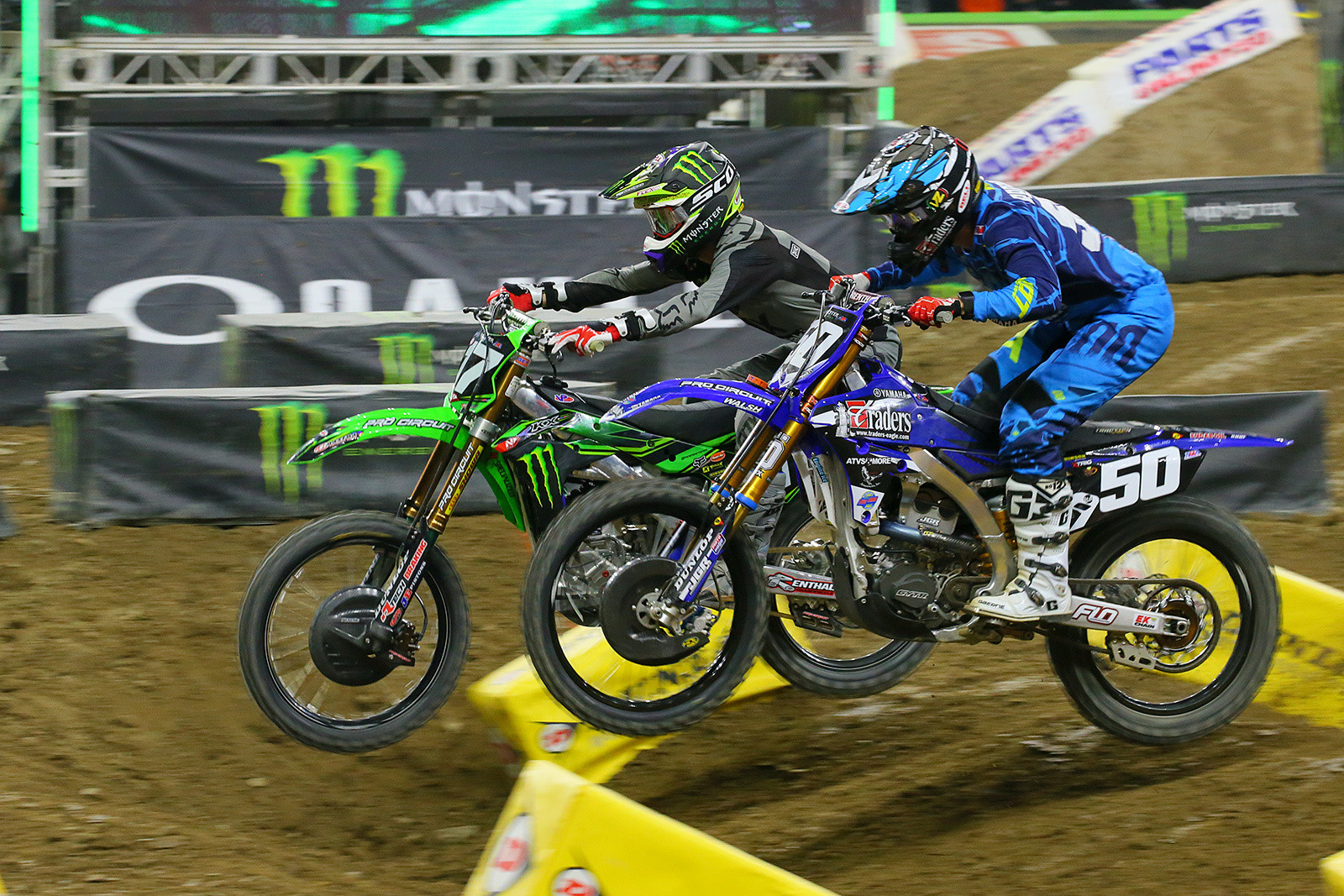 Joey Savatgy and Luke Renzland - Photo Blast: Detroit - Motocross Pictures - Vital MX