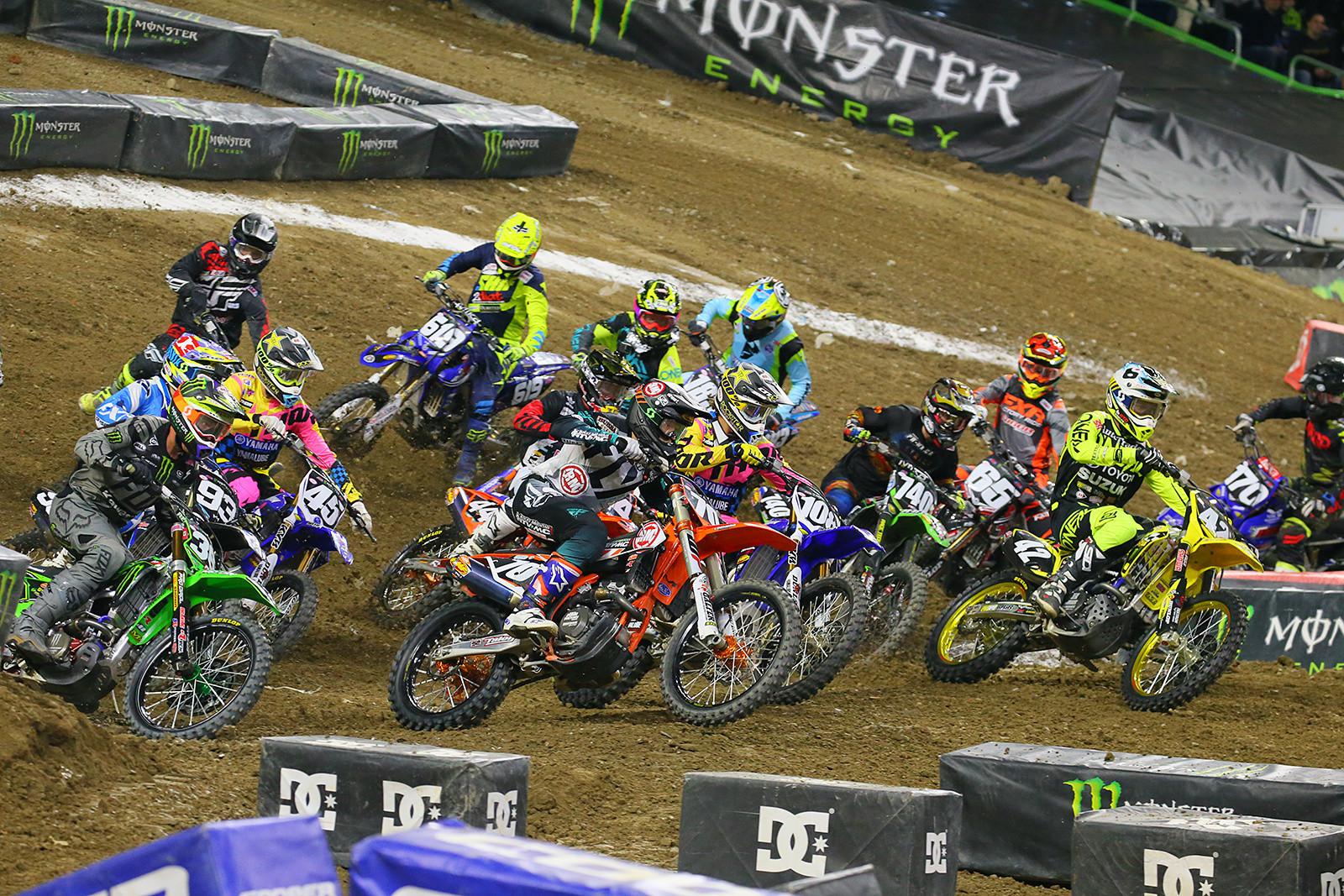 250 Heat Race Two  - Photo Blast: Detroit - Motocross Pictures - Vital MX