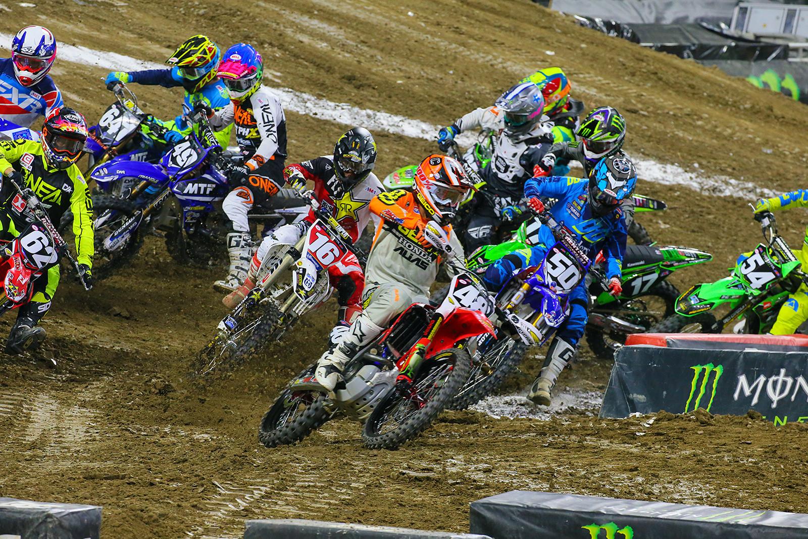 250 Heat Race One - Photo Blast: Detroit - Motocross Pictures - Vital MX
