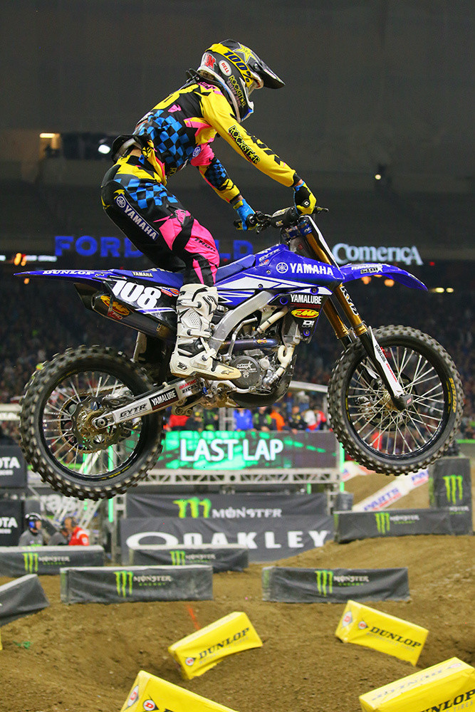 Dylan Ferrandis - Photo Blast: Detroit - Motocross Pictures - Vital MX