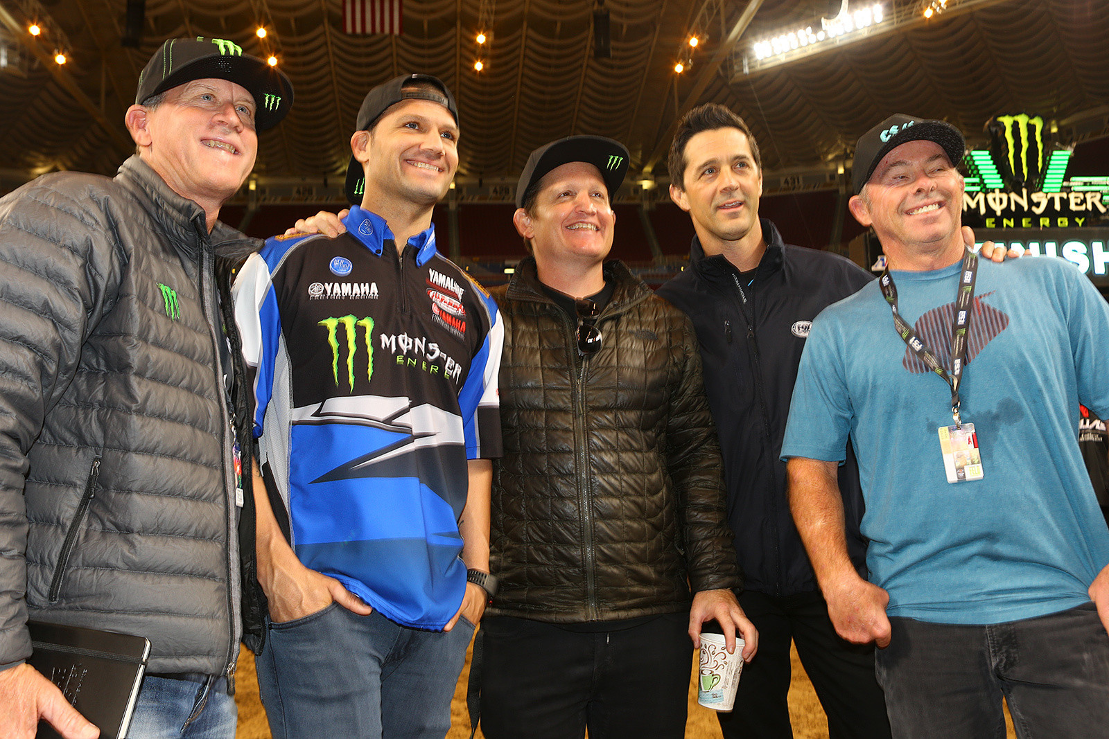 Johnny O'Mara, Chad Reed, Ricky Carmichael, Jeff Emig, and Jeff Ward - Pit Bits: St. Louis - Motocross Pictures - Vital MX