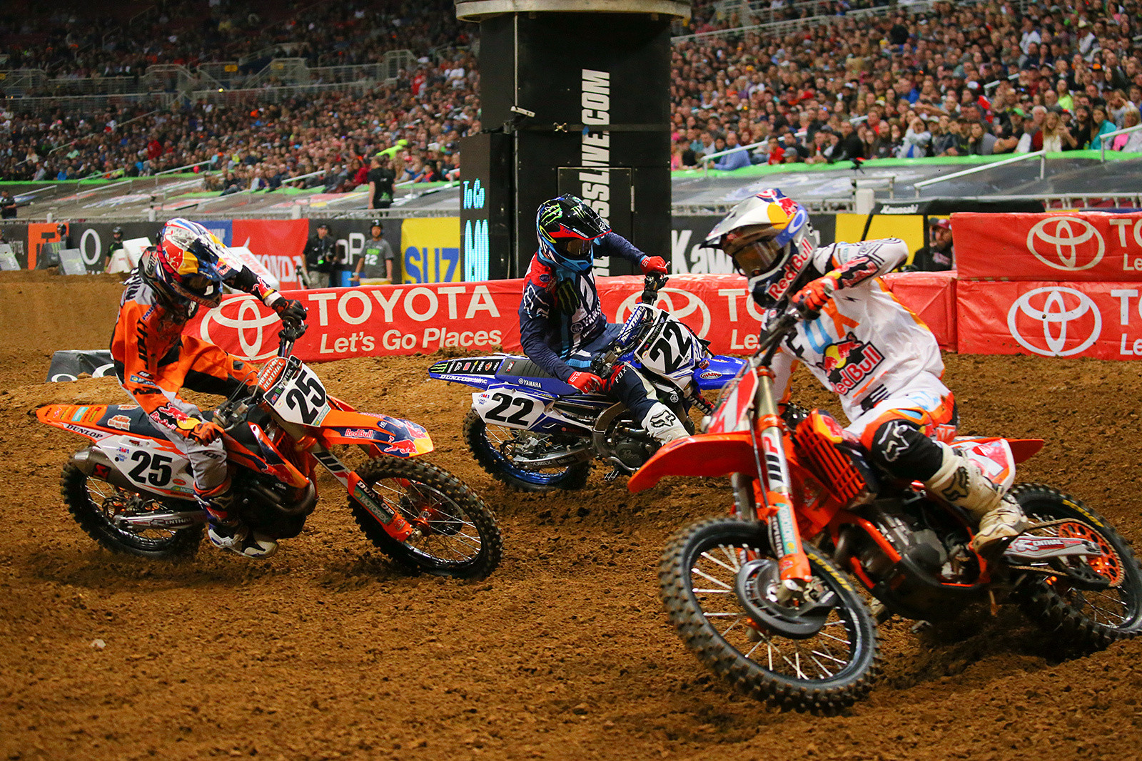 Ryan Dungey, Marvin Musquin and Chad Reed - Photo Blast: St. Louis - Motocross Pictures - Vital MX