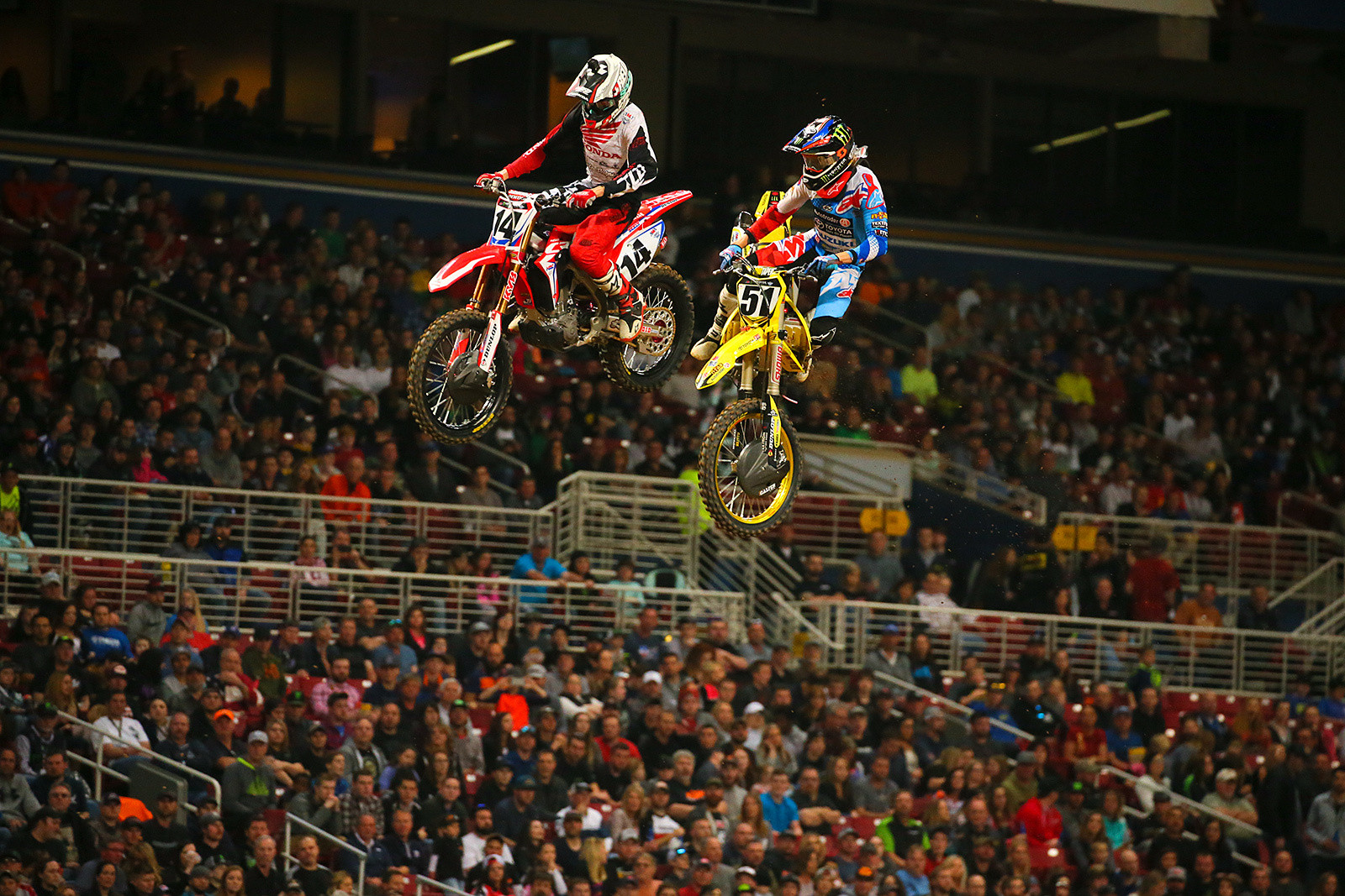 Cole Seely and Justin Barcia - Photo Blast: St. Louis - Motocross Pictures - Vital MX