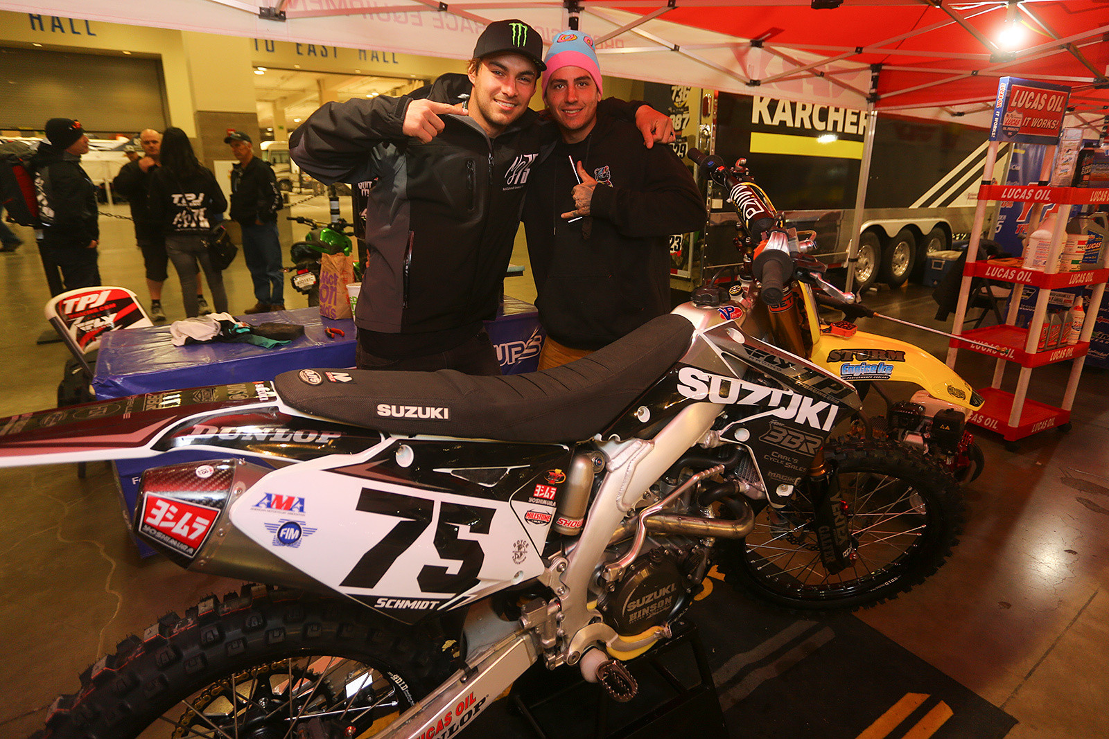 Nick Schmidt and Chris See - Vital MX Pit Bits: Seattle - Motocross Pictures - Vital MX