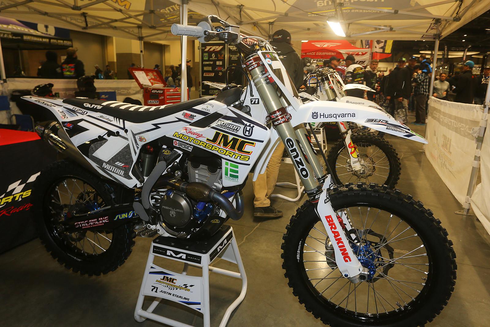 JMC Motorsports Husqvarna - Vital MX Pit Bits: Seattle - Motocross Pictures - Vital MX