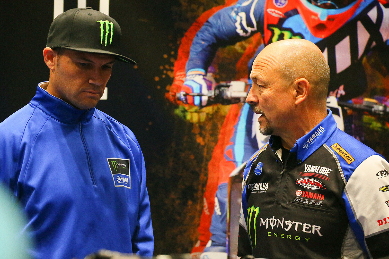 Chad Reed and Mike Gosselaar - Vital MX Pit Bits: Seattle - Motocross Pictures - Vital MX