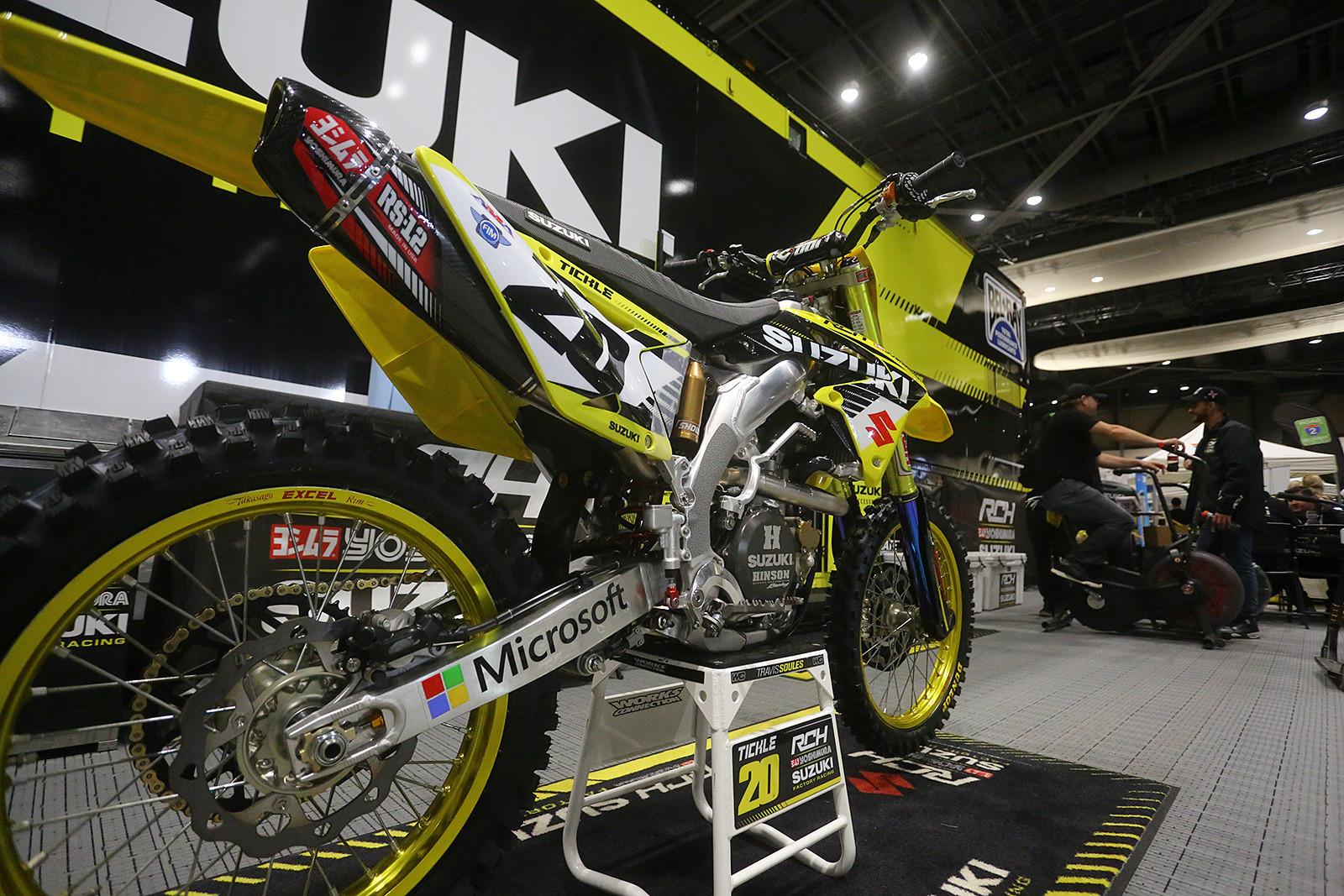 RCH/Yoshimura/Microsoft/Suzuki Factory Racing - Vital MX Pit Bits: Seattle - Motocross Pictures - Vital MX