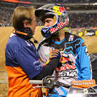 Winners' Circle: Dungey, Villopoto, Millsaps and Musquin from Minneapolis