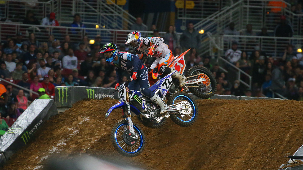 Ryan Dungey: 'If you're a lapper you've got to move over.'
