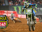 "Austin Forkner: ""Without a rear brake it definitely makes it tougher."""