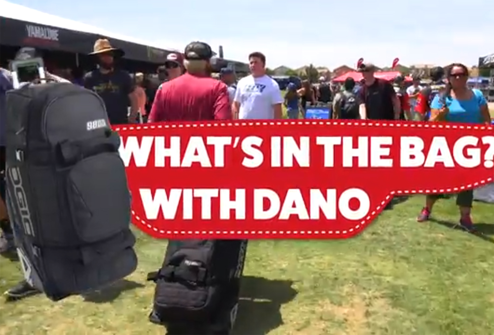 What's in the bag, Dano?