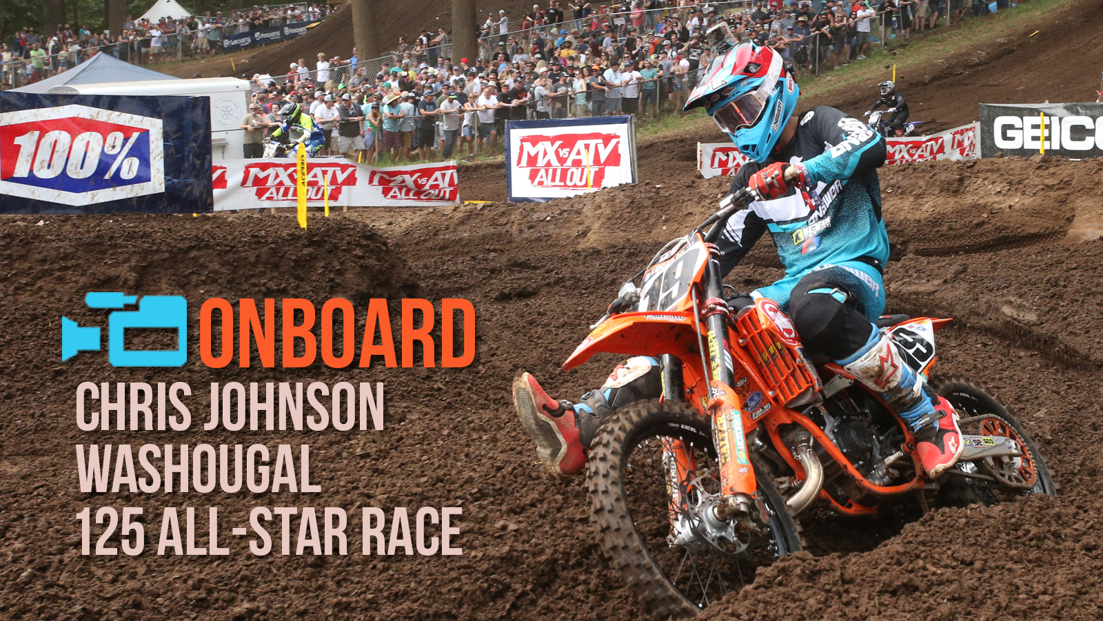 Washougal 125 All-Star Action with Chris Johnson