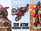 2020 KTM Team(s) Intros