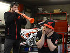 Honda World Motocross Team Pre-Season Photoshoot