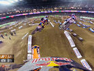 GoPro HD: Ken Roczen and Justin Barcia Main Event Battle 2014 Monster Energy Supercross from Phoenix