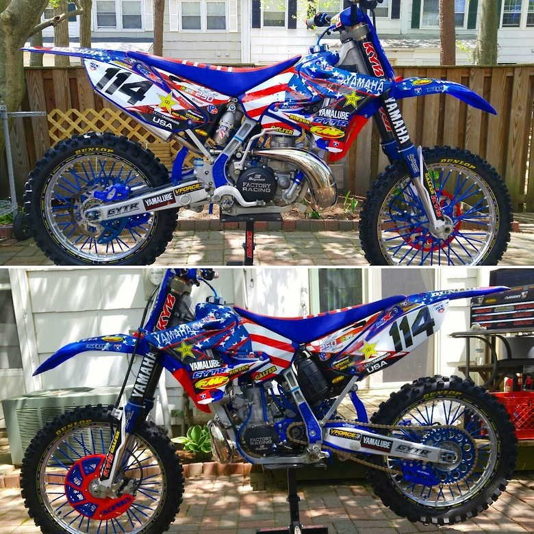 2014 YZ 250 RESTYLE..2ND UPDATE