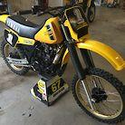 1982 Yamaha YZ250J
