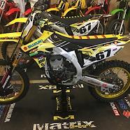 Brian Gillards 2019 Suzuki RMZ450