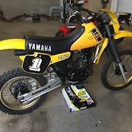 82 Yamaha YZ250J