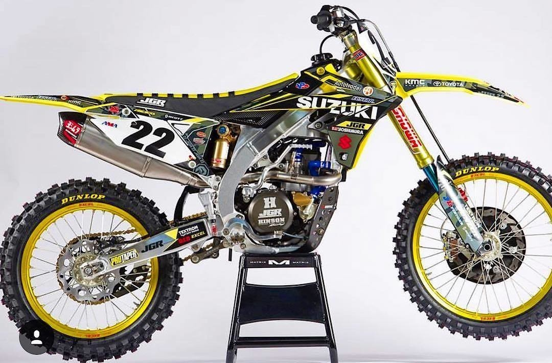 Chad Reed's MEC Suzuki RM-Z450 - Chad Reed's Monster Energy Cup Ride - Motocross Pictures - Vital MX