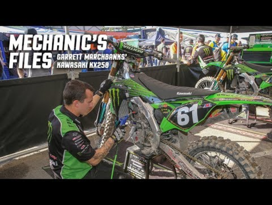 Mechanic's Files: Garrett Marchbanks' Kawasaki KX250
