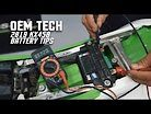 OEM Tech: 2019 Kawasaki KX450 Battery Tips