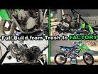 20 Minute Time-lapse 2003 KX125 | Full Tear-down and Build
