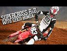 Getting Ready For Supercross: R&D With GEICO Honda