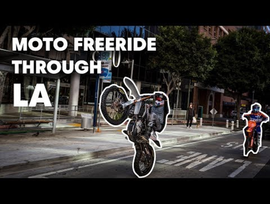 Robbie Maddison & Tyler Bereman Run Wild in Los Angeles | Duct Out