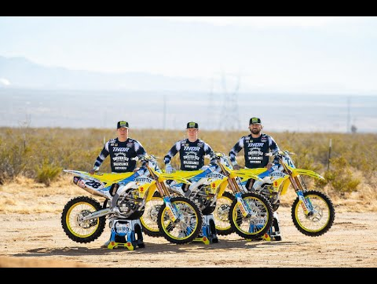 Yoshimura Presents the 2021 Twisted Tea Suzuki Team