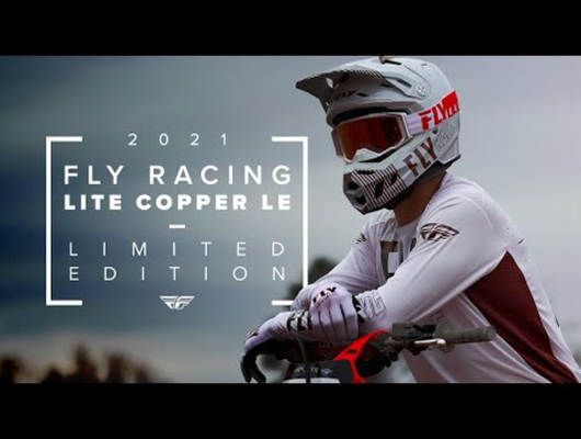 Fly Racing Introduces LE Lite Copper Gear and Helmet