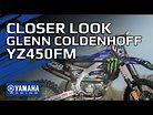 Glenn Coldenhoff's 2021 Yamaha Factory YZ450FM in Detail