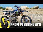 Aaron Plessinger's Monster Energy Star Racing Yamaha YZ450F