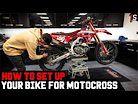 TOMMYS TIPS | HOW I SET UP MY HONDA 2021 CRF450 MOTOCROSS BIKE