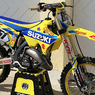 New 2008 Suzuki RM 125 Factory Replica