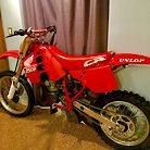 1989 cr 250r project