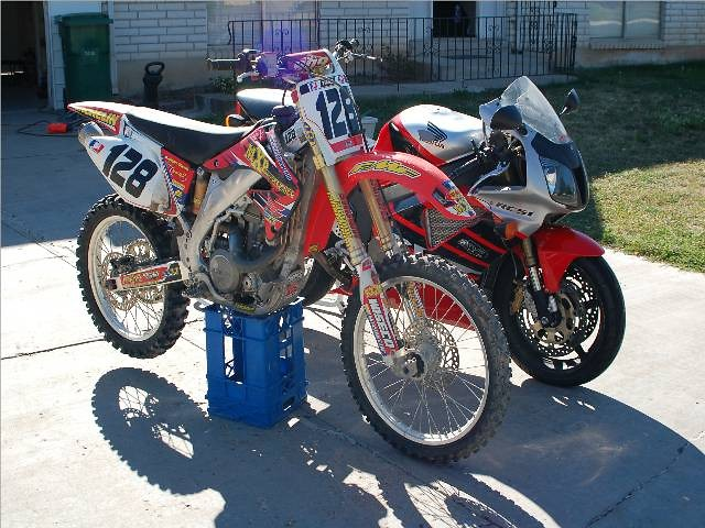 Both Dirt and Street Ride - Allracing - Motocross Pictures - Vital MX