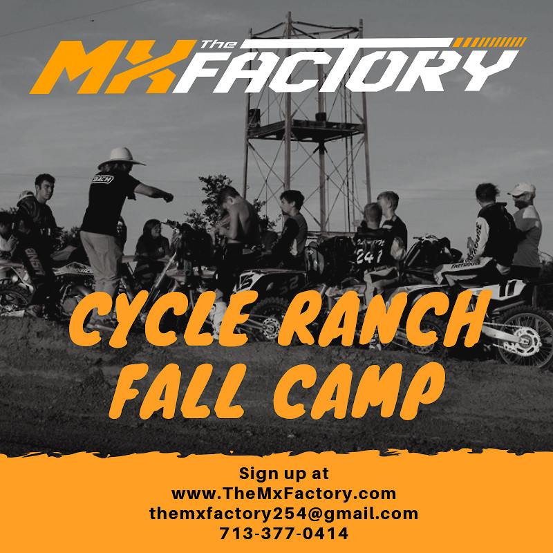 Fall Motocross Camp at Cycle Ranch - TheMxFactory - Motocross Pictures - Vital MX