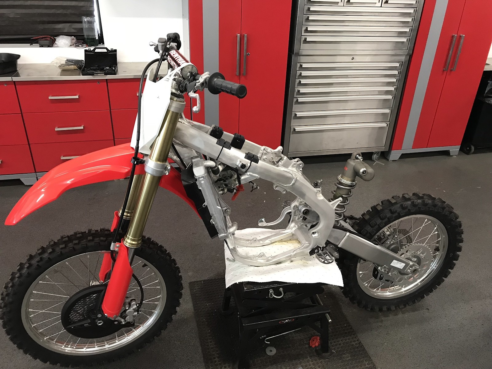 2017 Crf 450 Rolling Chassis Never Rode