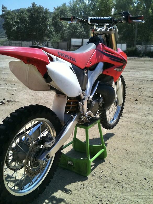 2007 CR250 OEM Stock