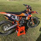 350 sxf Custom