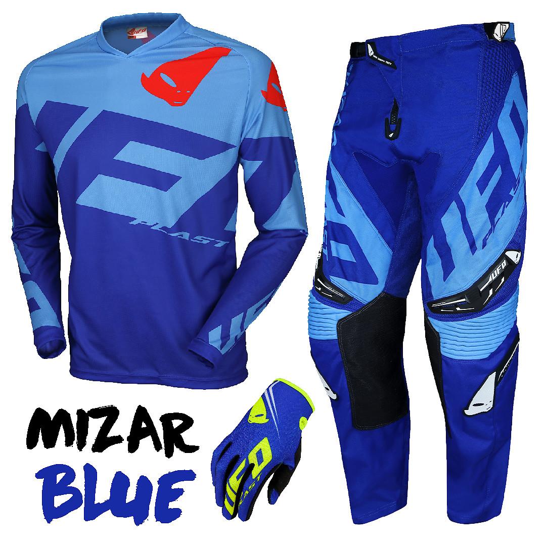 MIZAR Blue - UFO Plast USA - Motocross Pictures - Vital MX
