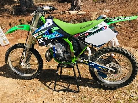 96 Kx250 before and after